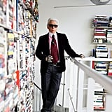 Karl Lagerfeld's Paris Apartment