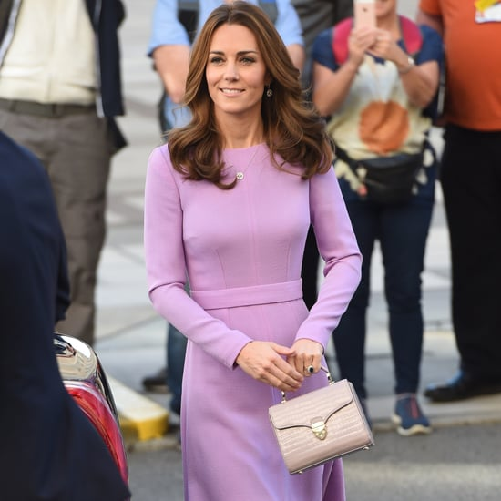 Kate Middleton Purple Bag From Aspinal of London 2018