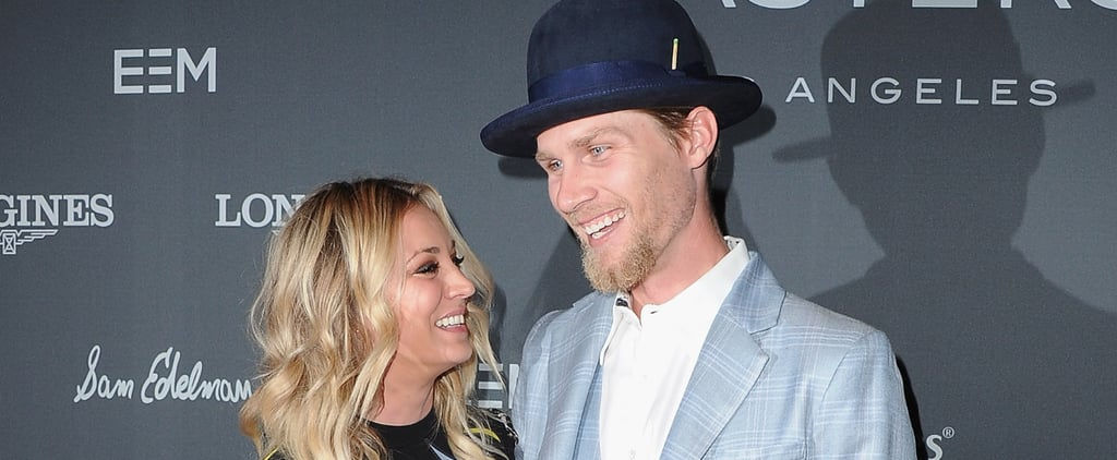 Kaley Cuoco and Karl Cook Show Sweet PDA During Their Red Carpet Debut as a Couple