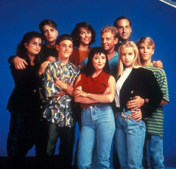 The Cast of Beverly Hills 90210