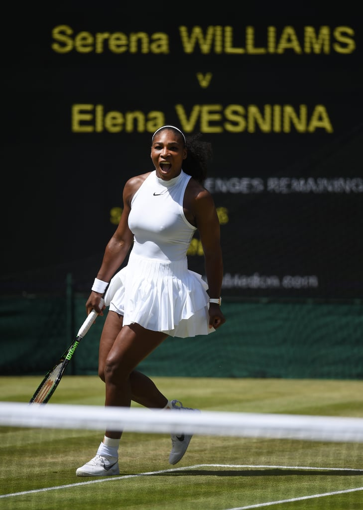 Serena Williams Looked Like an Angel During the 2016 Wimbledon Championships