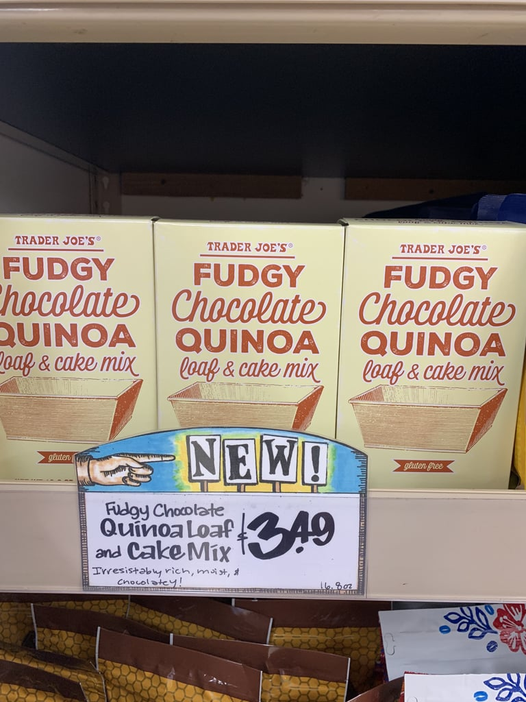 Trader Joe's Fudgy Chocolate Quinoa Loaf and Cake Mix ($3)