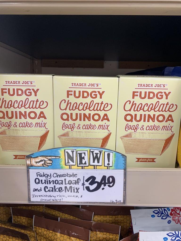 Trader Joe's Fudgy Chocolate Quinoa Loaf and Cake Mix
