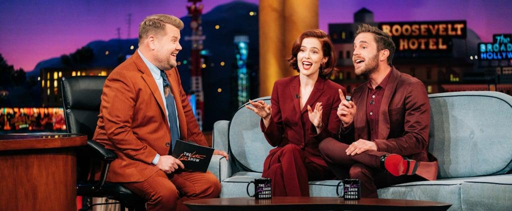 Politician's Ben Platt and Zoey Deutch in Matching Suits