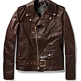 With all the leather that came down the Fall runways, leather jackets are something that I've been thinking about since, well, February. An option like Schott's Perfecto ($990) is not only warm enough to get you to Winter, but it's also so classic and timeless that it'll never go out of style. — JF