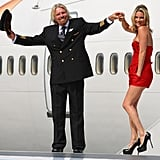 22/06/2009 Kate Moss and Richard Branson