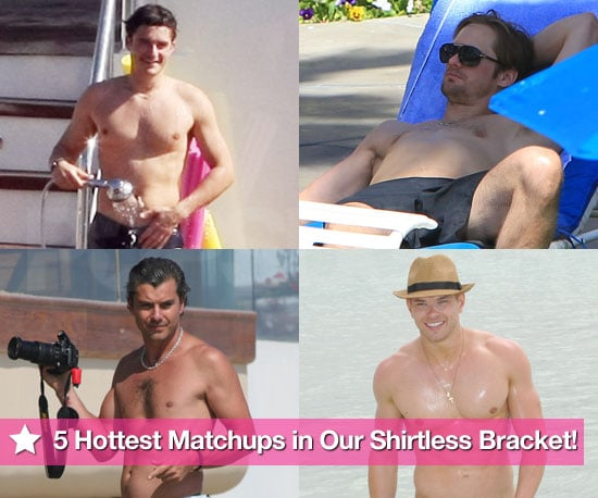 5 Hottest Matchups in Day One of Our Shirtless Bracket!