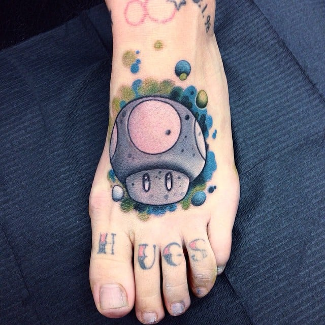 Mario Mushroom Prepare To Geek Out Over These Tattoo Ideas