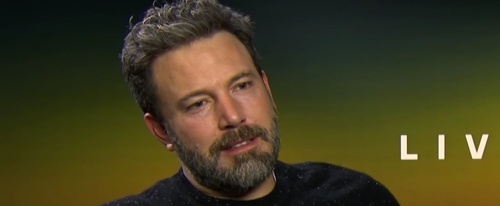 "Ben Affleck Finally Reacts to That Heartbreaking and Hilarious ""Sad Affleck"" Video"