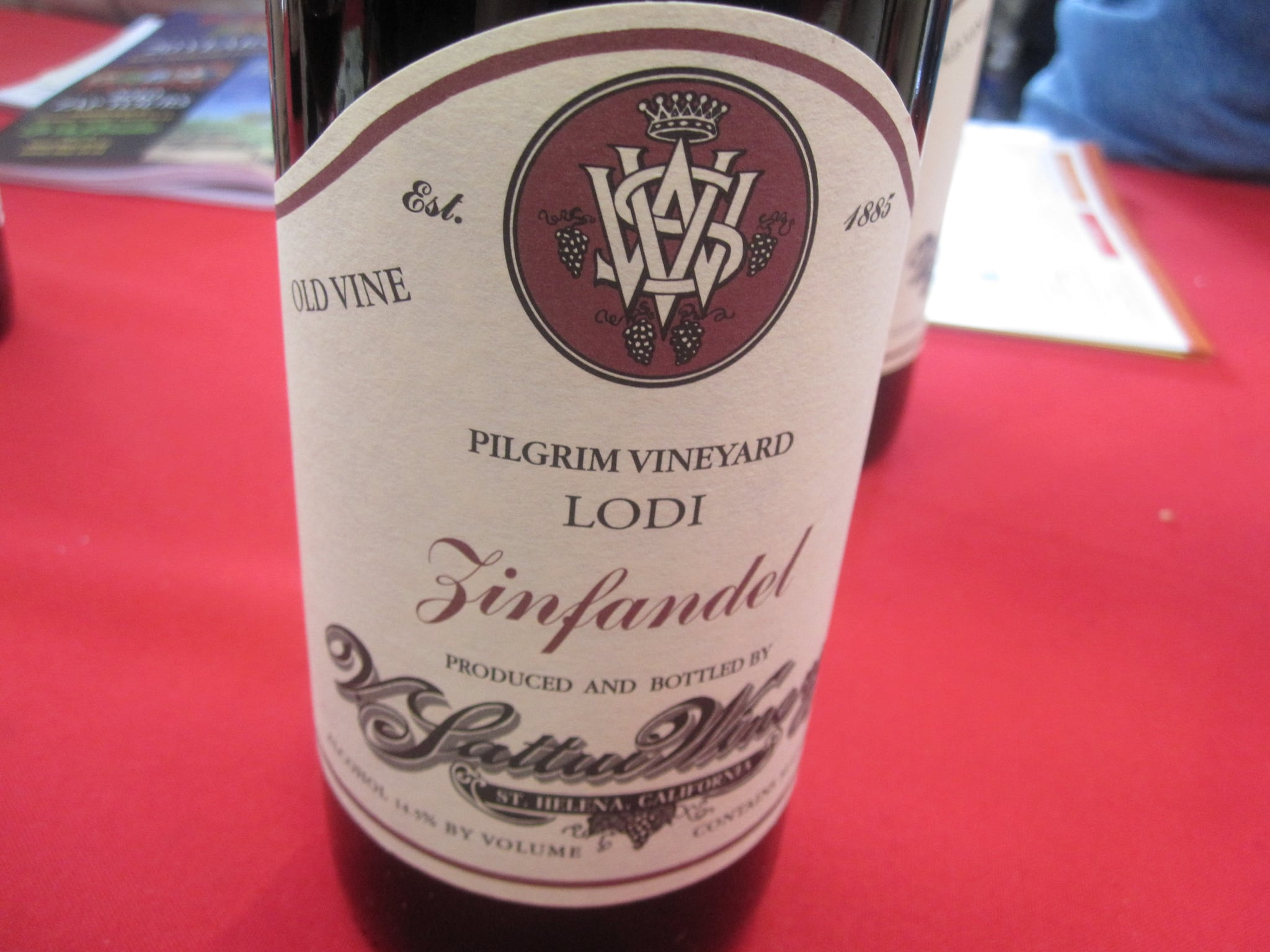 Another delightful taste came from Pilgrim Vineyard.