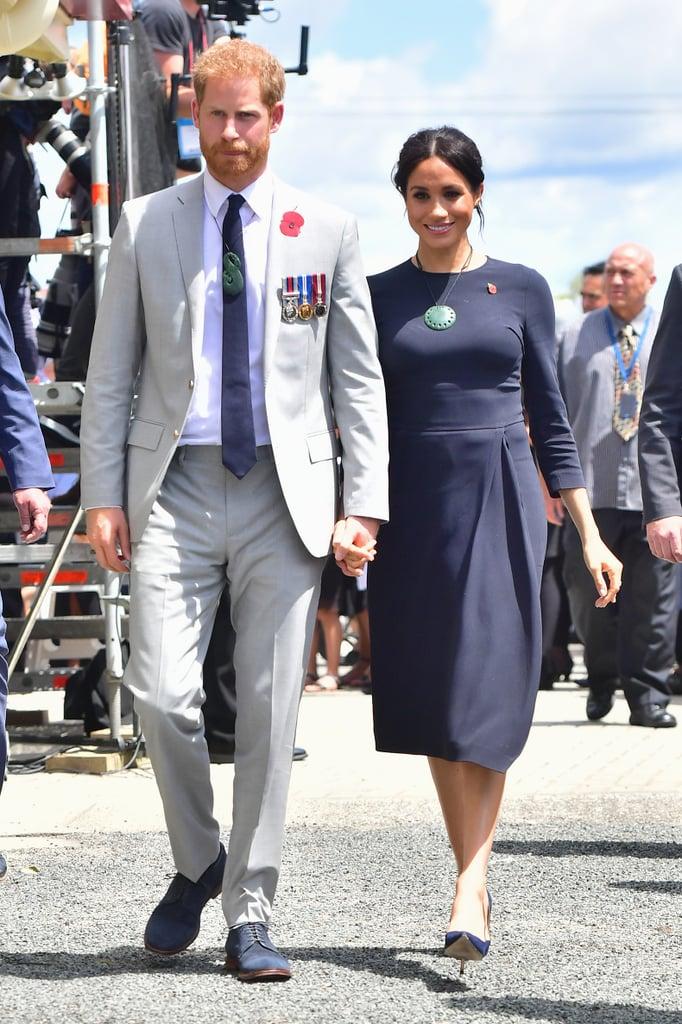 Meghan Markle's Pounamu Necklace in New Zealand 2018