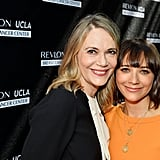 Rashida Jones and Peggy Lipton at Revlon Luncheon 2016