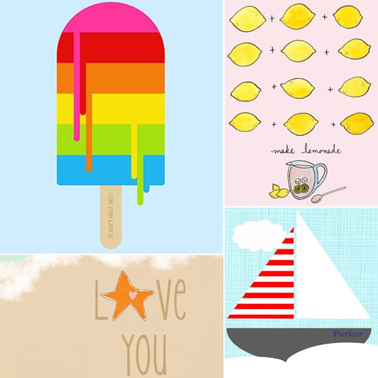 Summer Art Prints For Children