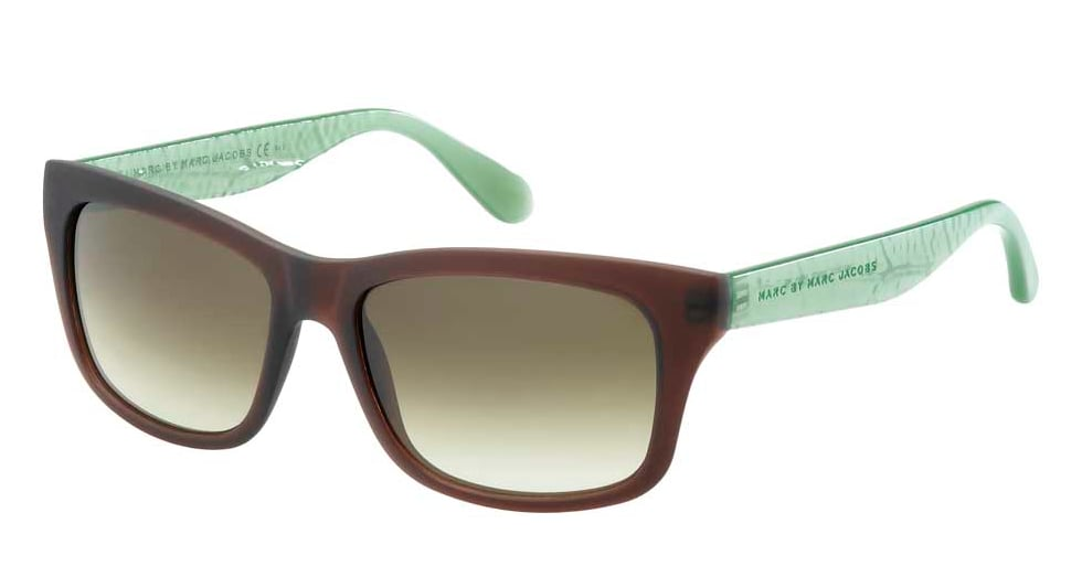 "Marc by Marc Jacbos 261/S Sunglasses ($140) Fun fact: This pair is also an eco-friendly option — they're bio-based in support of The Nature Conservancy's ""Plant a Billion Trees campaign"" and its mission to grow awareness for the preservation of our natural resources. How cool is that?"