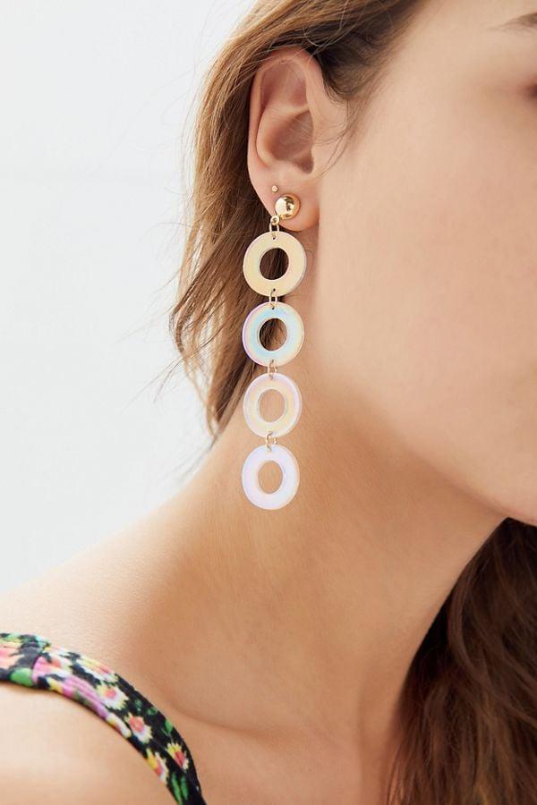 Aria Resin Drop Earrings