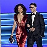 Sandra Oh Re-Creates La La Land Mistake at 2018 Emmys Video