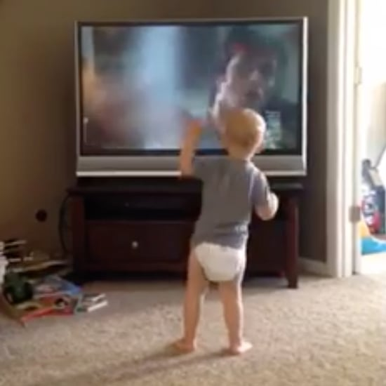 Boy Impersonates Rocky Balboa Training Montage