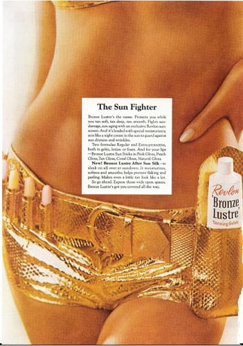 Beauty Ads from the Seventies