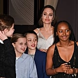 Angelina Jolie and Her Kids at Dumbo Premiere 2019