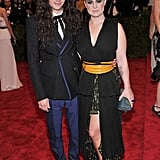 Rocker progeny Kelly Osbourne must have had it easy deciding what to wear. Music is in her blood, after all. The lilac-locked lady went with embellished Marc Jacobs and attended with paramour Matthew Mosshart.