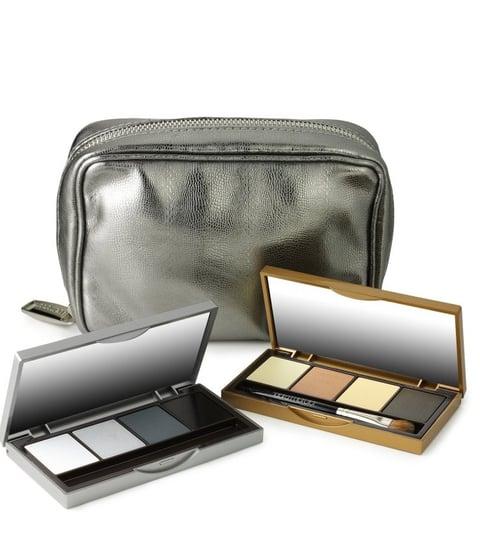 Autumn Winter 2008 Catwalk Runway Beauty Trend: Metallics, Gold, Silver. Laura Mercier Metals Palette Exclusive Harvey Nichols