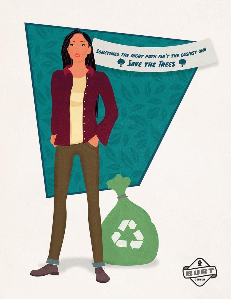 Pocahontas: Head of an Environmental Nonprofit