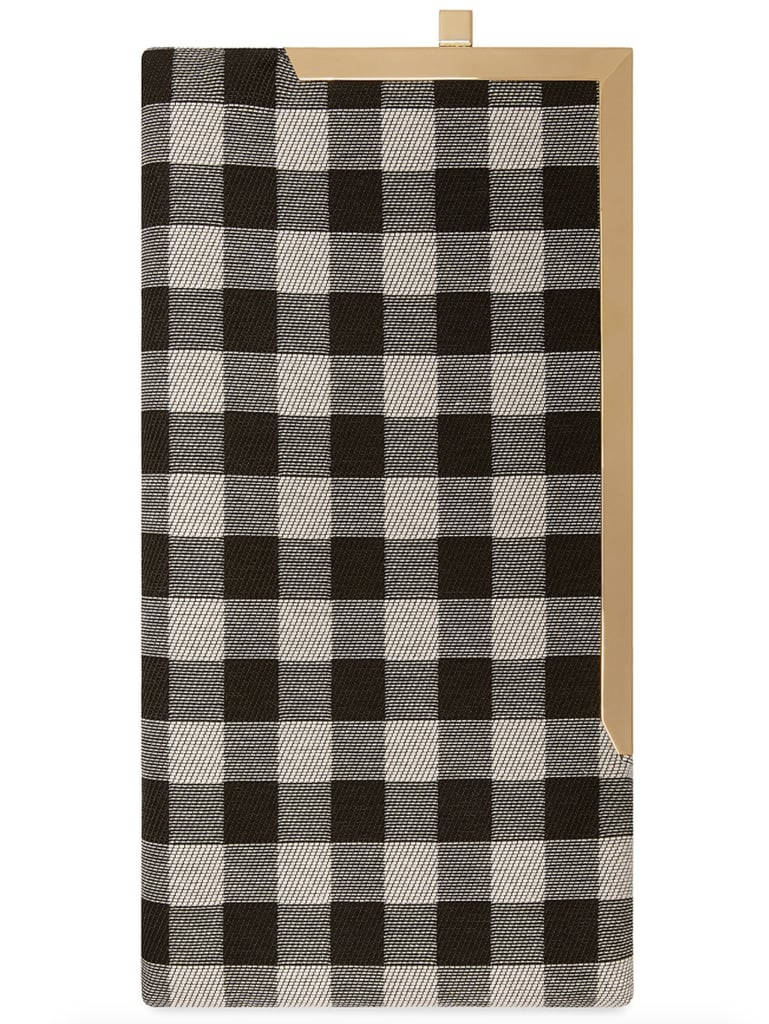 Mansur Gavriel Checker Long Clutch ($625)