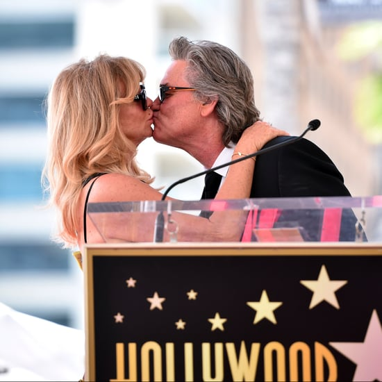 Goldie Hawn and Kurt Russell Hollywood Walk of Fame 2017