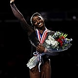 Simone Biles at the US Gymnastics Championship