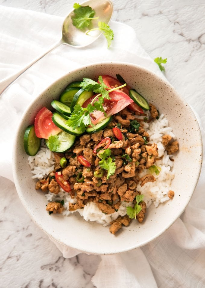 Spicy Thai Chicken Stir-Fry
