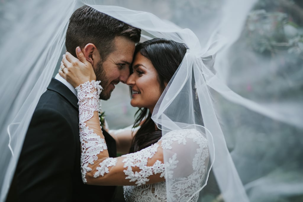 Alex met Danny at her first job out of college, where they instantly became friends. Fast forward to their wedding day, and the two looked gorgeous standing in the Redwood Grove at UC Berkeley's Botanical Garden. See the wedding here!