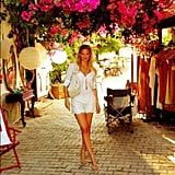 Bar Refaeli visited Turkey in July.  Source: Instagram user barrefaeli