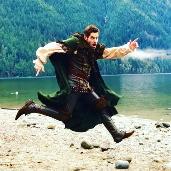 Robin Hood on Once Upon a Time Set November 2016