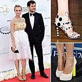 It's no secret that we are in love with Nicholas Kirkwood's stunning shoes, so when we heard that he won the annual British Fashion Council/Vogue Fashion Fund, we had to gather our favorite red-carpet moments from our footwear crush.