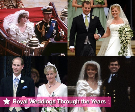Photo Slideshow of Royal Weddings Inc Charles and Diana to Celebrate Prince William and Kate Middleton's Wedding Confirmation