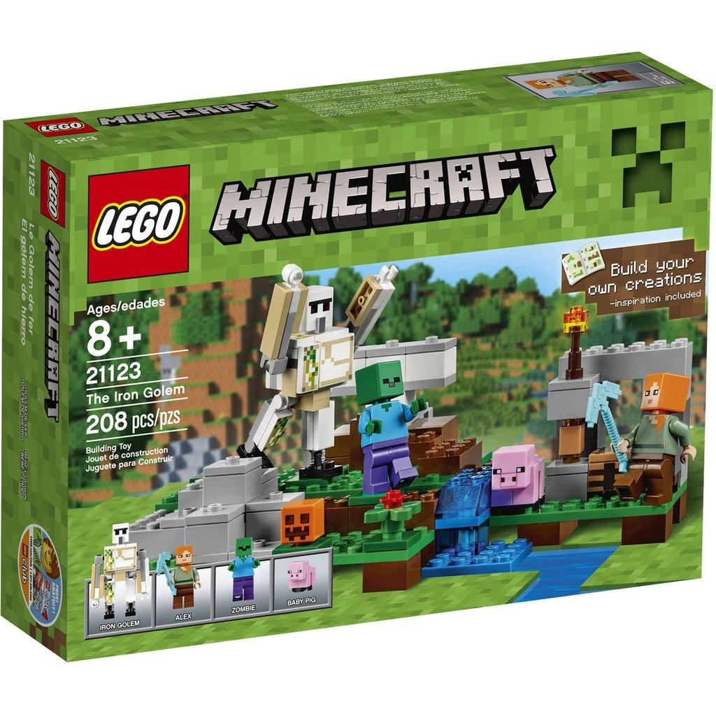 For 7-Year-Olds: Lego Minecraft The Iron Golem