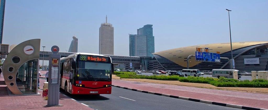واي-فاي مجاني ضمن حافلات ومواقف النقل العام في دبي 2019