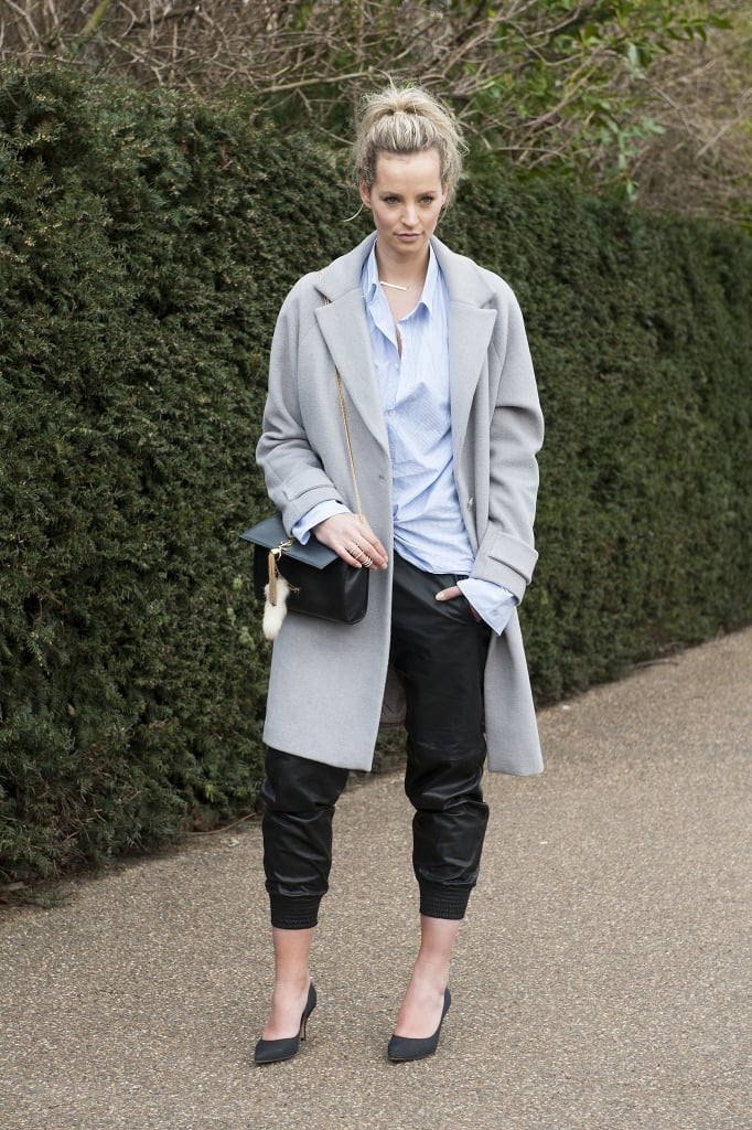 Pair a Relaxed Style With Kitten Heels and a Starched Button-Down