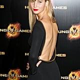 A closer look at Jennifer's backless Tom Ford dress.