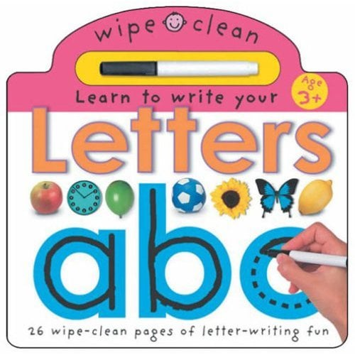 Texts and Tunes:  Wipe Clean Letters