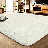 LOCHAS Luxury Velvet Living Room Carpet Rugs