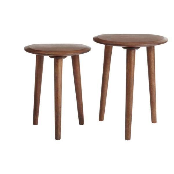Home Decorators Collection Haze Finish Wood Accent Tables