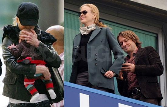 Photos of Nicole Kidman With Baby Sunday Urban and Keith Urban in London