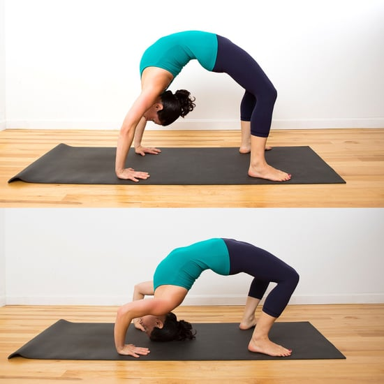 How to Do Backbend Push-Ups
