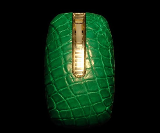 MJ Art Studio Green Python Mouse