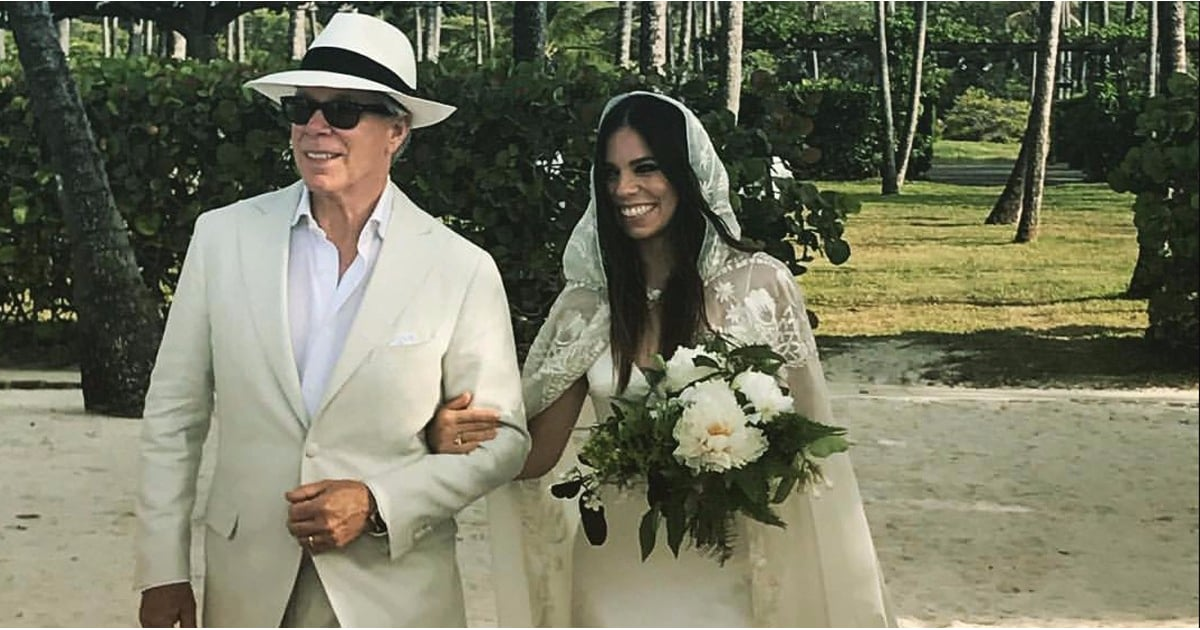 Tommy Hilfiger Designed His Daughter a Wedding Dress — but Wait Until You See Her Bridal Cape
