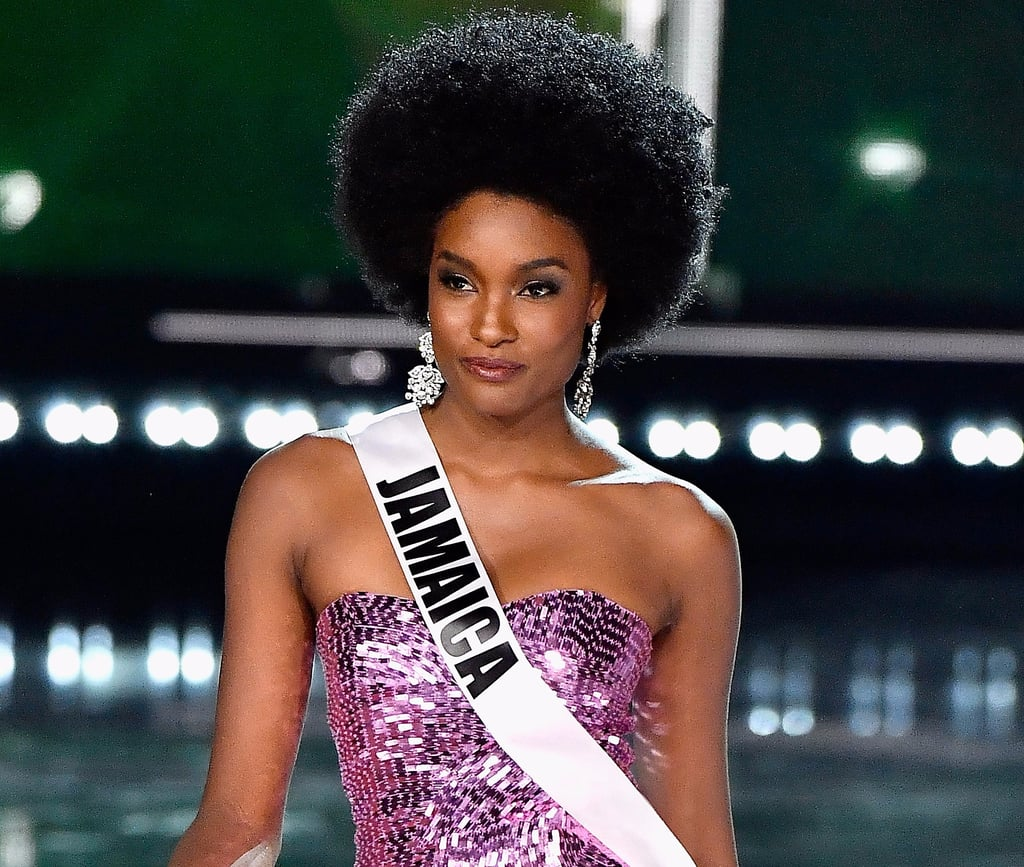 Miss Jamaica Wore an Afro at Miss Universe 2017, and We Are SO Here For It
