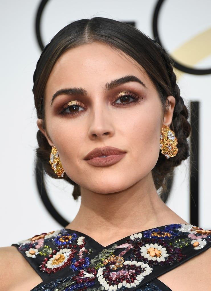Olivia Culpo at the Golden Globes