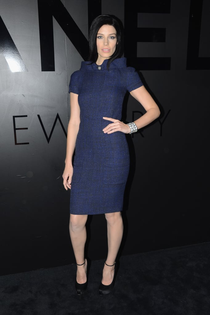 Jessica Pare attended Chanel's fine jewelry party.