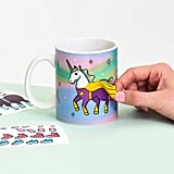 It feels more or less impossible to have a bad morning if you start it by dressing up your unicorn mug. Cheers!
